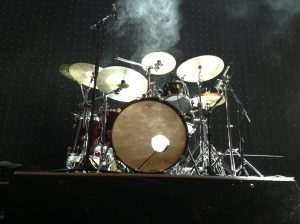 Drum kit smoke effects!