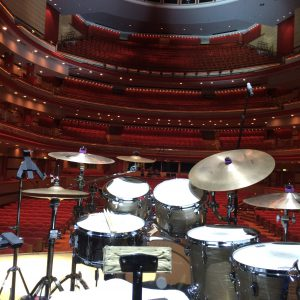 Brendan Cole Tour 2015 - From the stage pre-gig